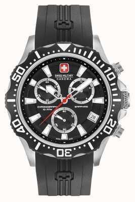 Swiss Military Hanowa Chronographe de patrouille homme noir mat 06-4305.04.007