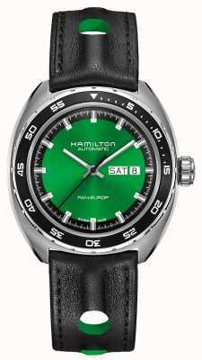 Hamilton Américain classique pan europ auto cadran vert H35415761