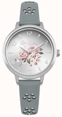 Cath Kidston Découpé au laser floral bracelet floral cadran argent CKL043US