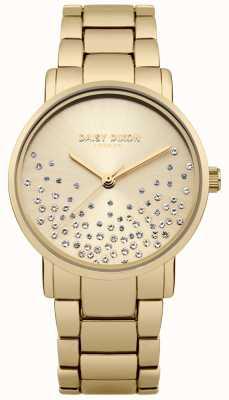 Daisy Dixon Bracelet en or or sunray cadran paillettes DD053GM
