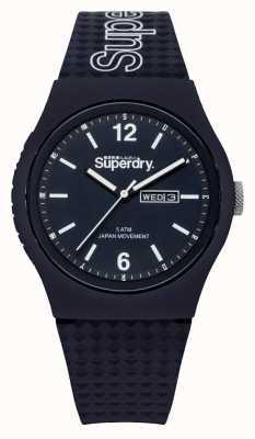 Superdry Bracelet bleu en silicone bleu SYG179UU