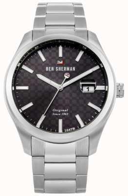 Ben Sherman Le bracelet professionnel en acier inoxydable ronnie WBS109TSM