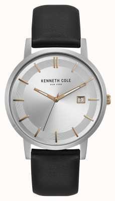 Kenneth Cole New York cadran en argent rose or marqueurs date affichage KC15202001
