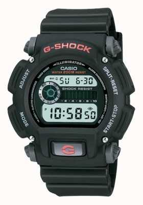 Casio Chronographe G-shock digital en résine noire DW-9052-1VER