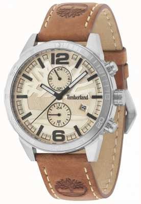 Timberland Sagamore bracelet en cuir marron clair 15256JS/07