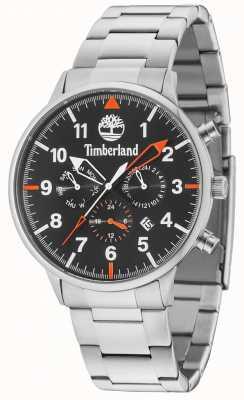 Timberland Bracelet multifonctions argenté noir Spaulding 15263JS/02M
