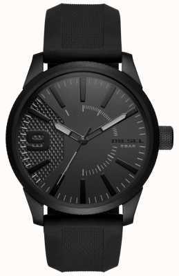 Diesel Râpe pour homme nsbb noir bracelet en silicone DZ1807