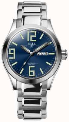 Ball Watch Company Ingénieur genèse 43mm cadran bleu NM2028C-S7-BE