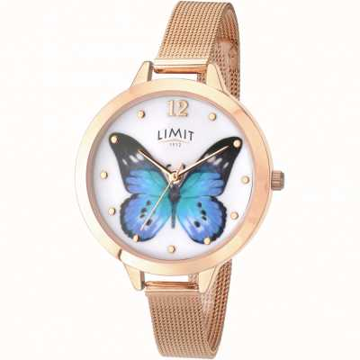 Limit Womens secret garden rose or papillon montre 6271.73