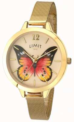 Limit Womens secret jardin maille or papillon montre 6276.73