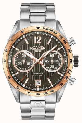 Roamer Montre bracelet chrono homme II en argent 510902496450