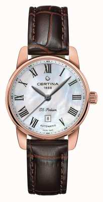 Certina Womens ds podium montre automatique C0010073611300