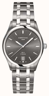 Certina Mens ds-4 montre en titane C0224104408100