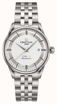 Certina Mens ds-1 powermatic 80 montre automatique C0298071103160