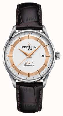 Certina Montre Homme DS-1 Powermatic 80 Himalaya Edition Spéciale C0298071603160