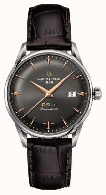 Certina Mens ds-1 powermatic 80 montre automatique C0298071608101