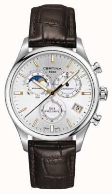 Certina Montre chronographe homme DS-8 Precidrive Moonphase C0334501603100