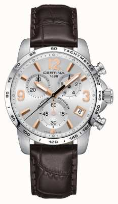 Certina | podium ds | precidrive | montre chronographe | C0344171603701