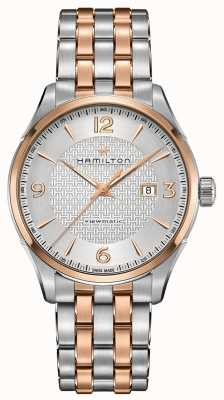 Hamilton Bracelet en acier inoxydable Viewmaster de Jazzmaster pour homme H42725151