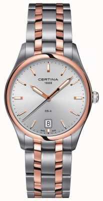 Certina | montre à quartz ds-4 pour hommes | bracelet en acier inoxydable | C0224102203100