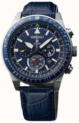 Seiko Montre solaire ciel prospex bleu SSC609P1