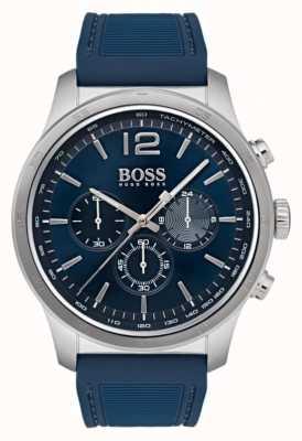 Boss Montre chronographe professionnelle pour homme bleue 1513526
