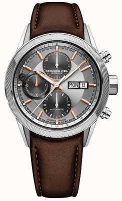 Raymond Weil Montre chronographe automatique Freelancer pour homme 7731-SC2-65655