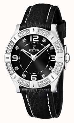 Festina Montre femme bracelet noir F16537/2