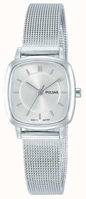Pulsar Womens bracelet en acier inoxydable maille 30m de résistance PH8375X1