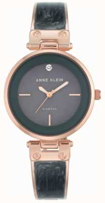 Anne Klein Femmes amanda rose boîtier en or cadran gris AK/N2512GYRG
