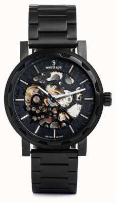 Weird Ape Kolt automatique noir ip bracelet et étui WA02-005514