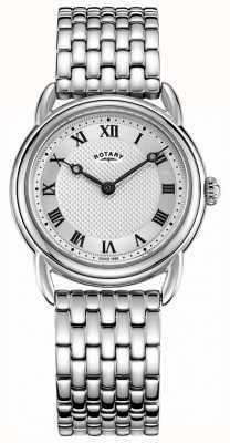 Rotary Bracelet en acier inoxydable Canterbury pour femme LB05335/21