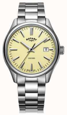 Rotary Mens oxford bracelet en acier inoxydable GB05092/32
