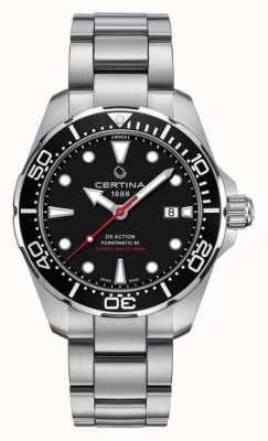 Certina Montre Automatique DS Action Diver Powermatic 80 pour homme C0324071105100
