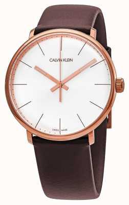 Calvin Klein Boîtier en or rose pour homme à haute teneur en or rose K8M216G6
