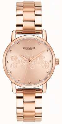 Coach Bracelet pour femme avec bracelet en or rose 14502977