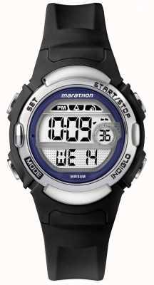 Timex Montre Marathon en caoutchouc noir TW5M14300
