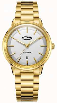 Rotary Mens avenger montre ton or barcelet GB05343/02