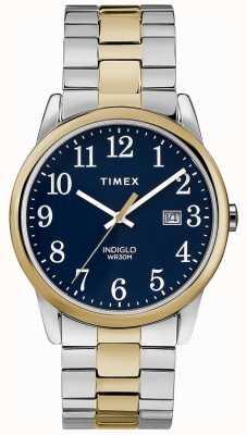 Timex Mens 38mm expédition bande deux tons bracelet en acier inoxydable TW2R58500