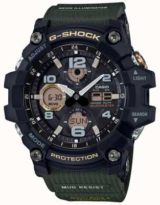 Casio G-shock mudmaster waveceptor sangle verte GWG-100-1A3ER