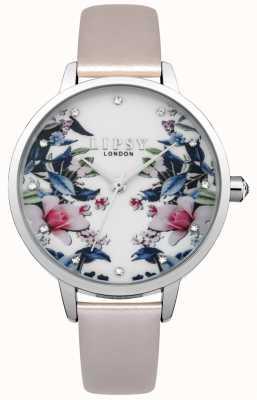 Lipsy Montre à motif floral pour femme LP574