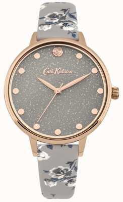 Cath Kidston Womens pailleté île tas bracelet gris montre CKL056ERG