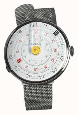 Klokers Klok 01 jaune tête de montre en acier milano KLOK-01-D1+KLINK-05-MC1