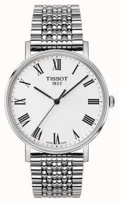 Tissot Mens everytime saphir moyen bracelet en acier inoxydable T1094101103300