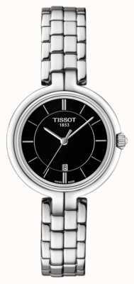 Tissot Bracelet flamant rose en acier inoxydable pour femme T0942101105100