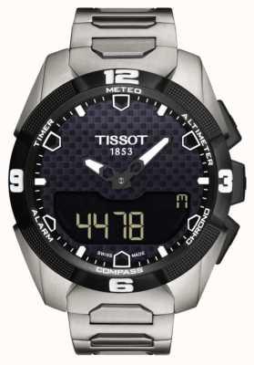 Tissot T-touch expert solaire titane bracelet solaire capteur double T0914204405100