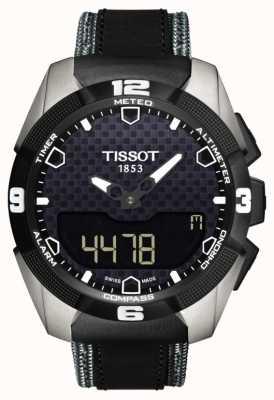 Tissot T-touch expert solaire titane double capteur en cuir T0914204605101