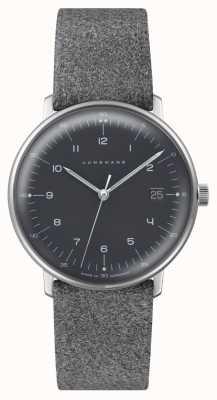 Junghans Max bill quartz | cadran gris | bracelet texturé gris 041/4818.04