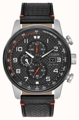 Citizen Montre homme chronographe sport chronographe 24 heures CA0681-03E