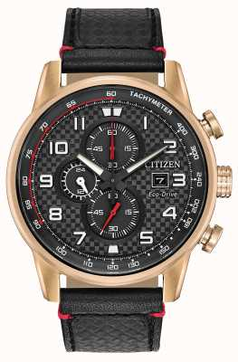 Citizen Montre homme chronographe sport chronographe 24 heures CA0683-08E